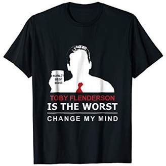 Office Toby is the Worst T-shirt