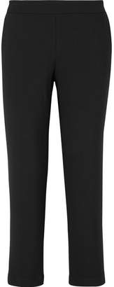 Hatch The Beckett Stretch-crepe Tapered Pants - Black