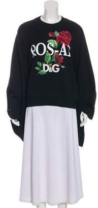 Dolce & Gabbana Printed Long Sleeve Sweatshirt