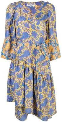 Apiece Apart printed V-neck dress