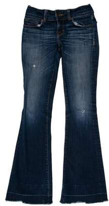 J Brand Love Story Bell Bottom Low-Rise Jeans