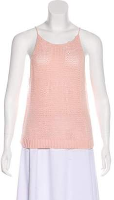 360 Cashmere Knit Sleeveless Top
