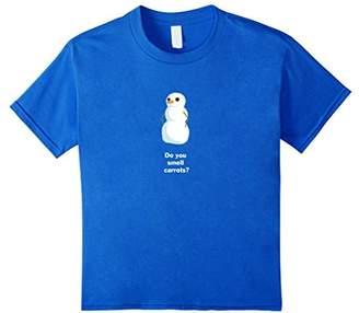 Funny Snowman Shirt: Do You Smell Carrots?