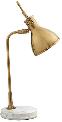 Visual Comfort & Co. Enrico Marble Lamp - Antiqued Brass