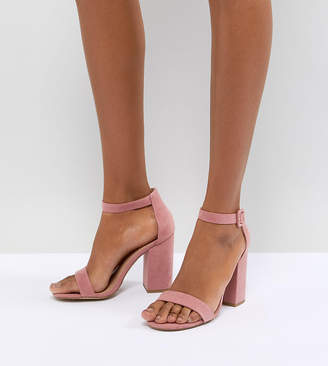 73c4a15e73 New Look Pink Heeled Sandals For Women - ShopStyle UK