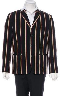 Marc Jacobs Striped Wool-Blend Blazer