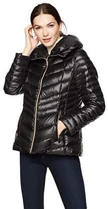 Haven Girl Women's Pillow Collar Packable Down Jacket