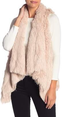 Wit & Wisdom Faux Fur Vest (Petite)
