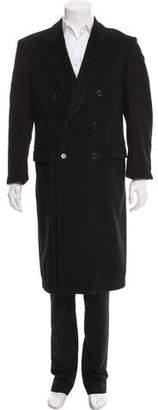 Prada Double-Breasted Wool Coat