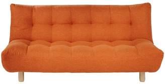Habitat Kota 2 Seater Fabric Sofa Bed - Orange