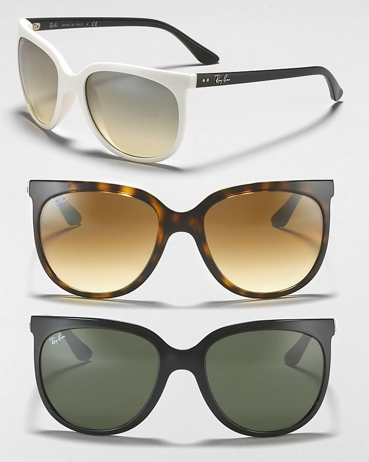 Ray-Ban Oversized Cat Eye Sunglasses