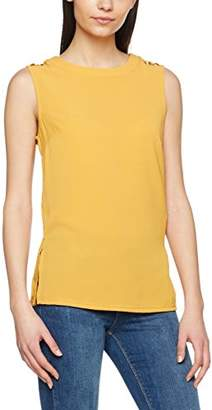 New Look Women's 51159 Tank Top, (Dark Yellow)