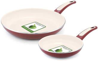Green Pan GreenPanTM Focus 7 and 10 Aluminum Nonstick Fry Pan Set