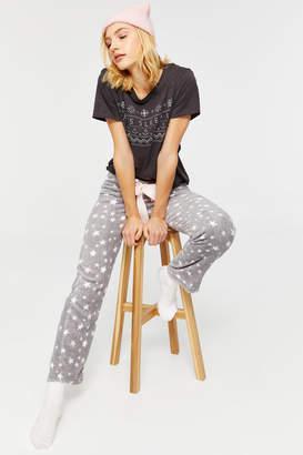Ardene Fuzzy Star PJ Pants