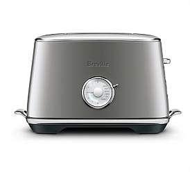 Breville Bta735Shy Toast Select Luxe 2 Slice Toaster Smoked Hickory