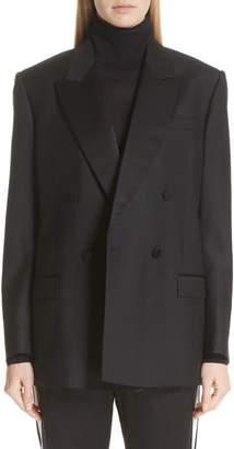 Burberry Thompson Wool & Mohair Blazer