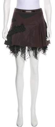 Louis Vuitton Ruffle Mini Skirt