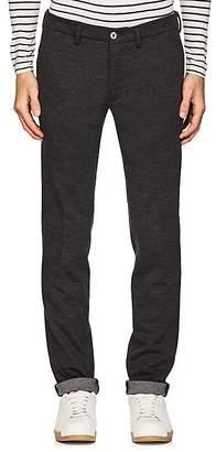 Barneys New York Men's Mélange Wool-Blend Straight Trousers