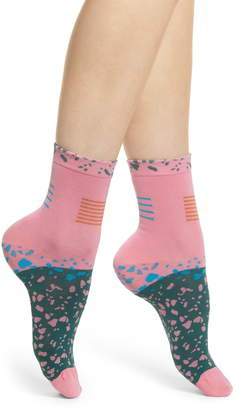 Happy Socks Hysteria by Ruby Ankle Socks