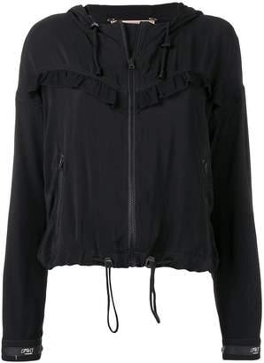 Twin-Set ruffled bomber jacket