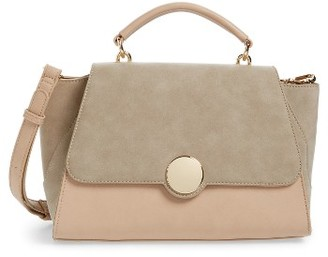 Sole Society Kenyon Faux Leather Satchel - Pink $64.95 thestylecure.com