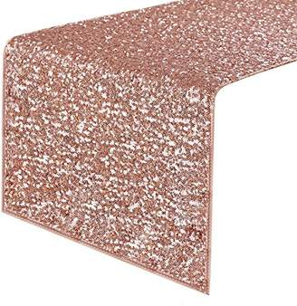 PONY DANCE Decorative Sparkling Sequins Table Runner Table Runner With Premium Quality For Christmas/Party/Wedding/Birthday Banquet Decoration
