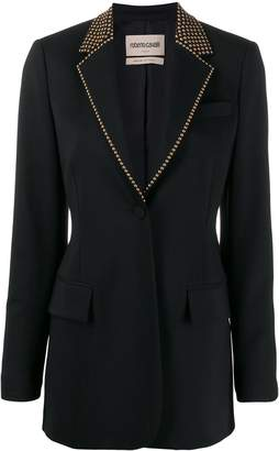 Roberto Cavalli studded tailored blazer