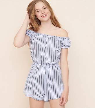 Garage Off-The-Shoulder Romper