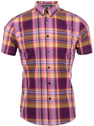 Mulberry Lords of Harlech - Tim Shirt In Large Plaid