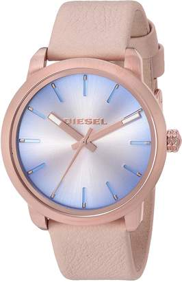 Diesel Women's 'Flare Degrade' Quartz Stainless Steel and Leather Casual Watch, Color (Model: DZ5572)