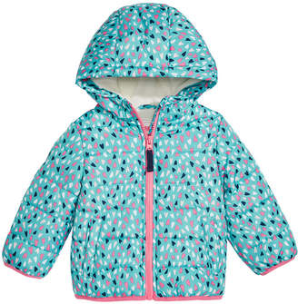Carter's Baby Girls Printed Hooded Puffer Jacket