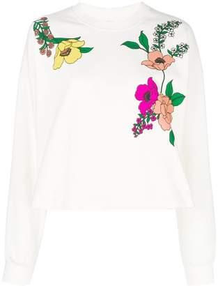 Vivetta floral print sweatshirt