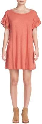 Elan International Ruffle Sleeve Dress