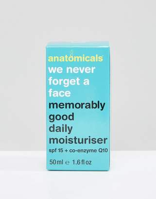 Anatomicals We Never Forget A Face - Memorably Good Daily MoisturiserSPF 15 50ml