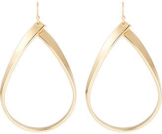 Lydell NYC Golden Teardrop Earrings