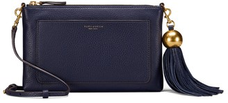 Tory Burch LEATHER TASSEL CROSS-BODY