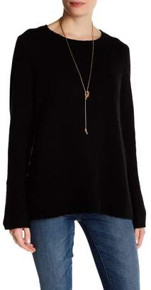 360 Cashmere Selene Bell Sleeve Cashmere Sweater $345 thestylecure.com