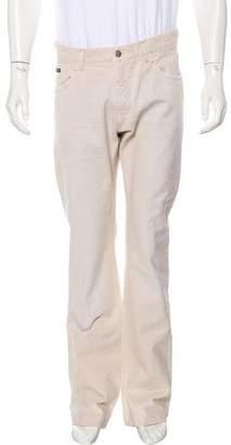 Dolce & Gabbana Five-Pocket Straight-Leg Pants