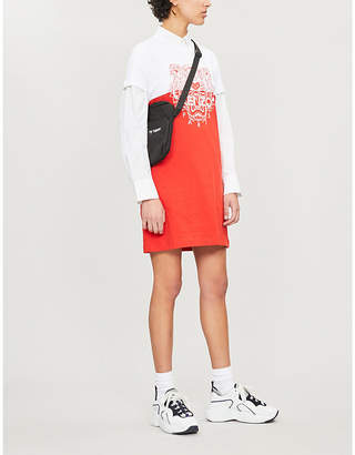 Kenzo Actua colour-blocked cotton-jersey T-shirt dress