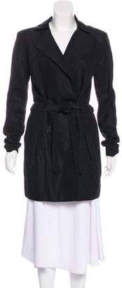 Theyskens' Theory Tie-Accented Short Coat