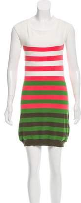 Milly Stripe Mini Dress