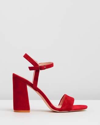 315981716d36 Red Block Heel Sandals For Women - ShopStyle Australia
