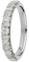 18ct Gold 0.65ct Diamond Eternity Ring
