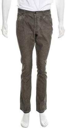 John Varvatos Woven Skinny Jeans