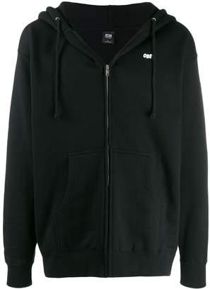 Obey rear print hoodie