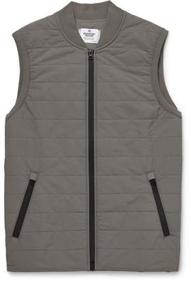 Reigning Champ Quilted Stretch-Shell Gilet