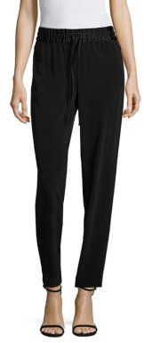 DKNY Solid Tapered Pants