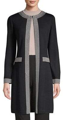 St. John Santana Studded Knit Jacket