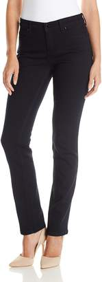 Jones New York Women's Curvy Straight Leg Jean Pant 3 1/ Inch