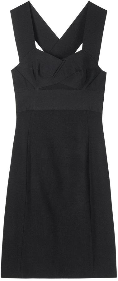 Proenza Schouler Bandage Bustier Dress